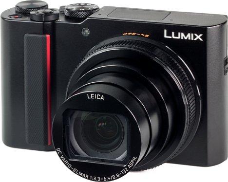 Bild Mit Abmessungen von 111 x 66 x 45 mm ist die Panasonic Lumix DC-TZ202 zwar nicht für die Hemdtasche geeignet, dennoch gehört sie zu den kleinen Reisezoomern. [Foto: MediaNord]