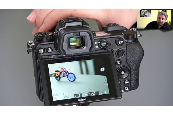 "Bild Manuel Quarta im Schulungs-Videos ""Nikon Z-System im Detail"", Kapitel ""Fokus-Peaking (Konturfilter)"". [Foto: MediaNord]"