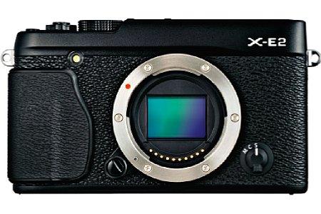 Bild Die Fujifilm X-E2 verfügt mit dem X-Trans-CMOS-II über einen 16 Megapiel auflösenden APS-C-Sensor mit integriertem Phasen-Autofokus. [Foto: Fujifilm]