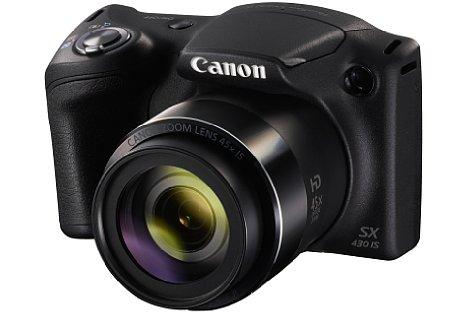 Bild Die Canon PowerShot SX430 IS bietet ein optisches 45-fach-Zoom von 24 bis 1.080 Millimeter, ebenfalls inklusive optischem Bildstabilisator. [Foto: Canon]