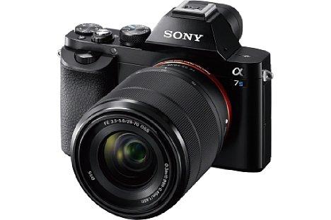 Bild Die Sony Alpha 7S besitzt einen 12 Megapixel auflösenden Kleinbildsensor. [Foto: Sony]