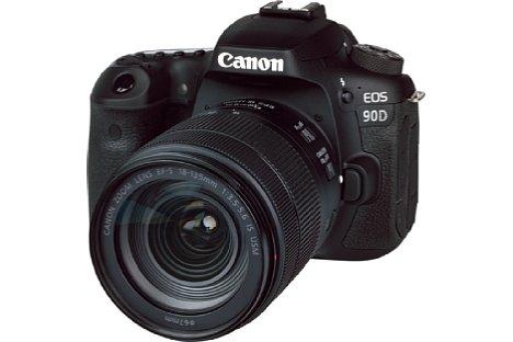 Bild Canon EOS 90D mit EF-S 18-135 mm IS Nano USM. [Foto: MediaNord]