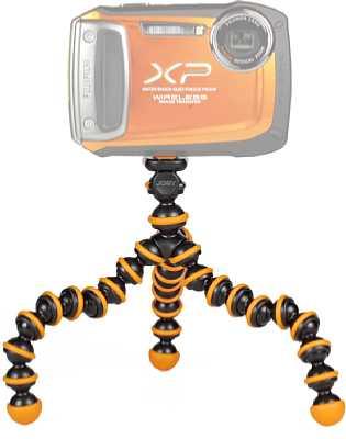 Joby GorillaPod schwarz/orange [Foto: MediaNord]