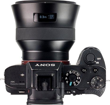 Bild Dank der spiegellosen Technik der Sony Alpha 7R II baut das Zeiss Batis 2.8/18 mm sehr kurz. [Foto: MediaNord]