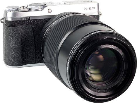 Bild Das Fujifilm XF 80 mm F2.8 R LM OIS WR Macro zeigt an der X-E3 eine ausgesprochen gute, ja sogar nahezu perfekte Bildqualität. Die Auflösung ist bereits bei Offenblende hoch, optische Fehler sind kaum vorhanden. [Foto: MediaNord]