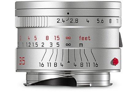 Bild Das Leica Summarit-M 1:2.4/35 mm Asph. besitzt als einziges Summarit-M eine asphärische Linse. [Foto: Leica]