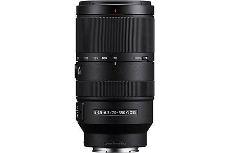 Sony E 70-350 4.5-6.3 G OSS (SEL70350G). [Foto: Sony]