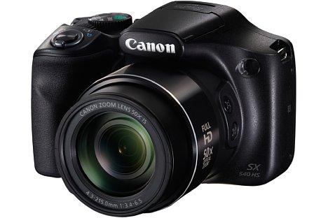 Bild Mit dem optischen 50-fach-Zoom (24-1.200 mm KB) wird bei der Canon PowerShot SX540 HS geklotzt statt gekleckert. [Foto: Canon]