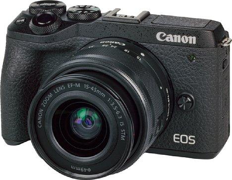 Bild Canon EOS M6 Mark II mit EF-M 15-45 mm. [Foto: MediaNord]