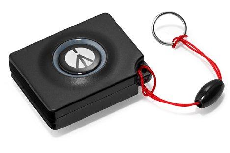 Bild Der Manfrotto-Bluetooth Auslöser erfordert keine zusätzliche App auf dem Smartgerät, allerdings meldet sich der Auslöser nicht als ein Manfrotto-Gerät an. [Foto: Manfrotto]