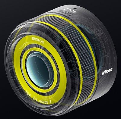 Bild Zahlreiche Dichtungen sorgen beim Nikon Z 40 mm F2.0 für einen Spritzwasser- und Staubschutz. [Foto: Nikon]