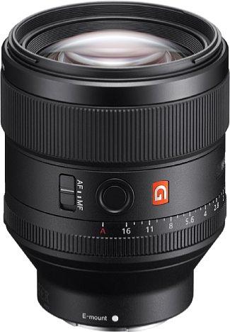 Bild Das Sony FE 85 mm F1.4 GM (SEL85F14GM) gehört der höchsten Objektivklasse G Master von Sony an und soll damit höchste optische Leistung bringen. [Foto: Sony]