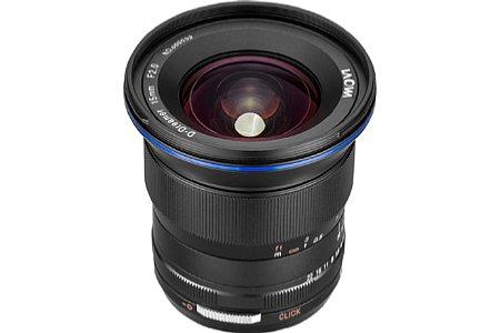 Bild Beim Laowa 15 mm F2 FE Zero-D handelt es sich um ein manuell zu fokussierendes Vollformat-Objektiv für die spiegellosen Systemkameras von Sony. [Foto: Laowa]
