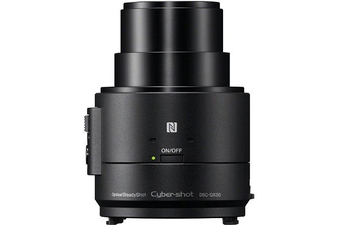 Bild Trotz deutlich kleinerem Sensor löst die Sony QX30 wie die QX1 20 Megapixel auf. [Foto: Sony]