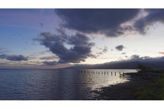 """Bild Ohne Graufilter sind Wolken und Wasser in ihrer Dynamik """"eingefrohren"""". [Foto: Harm-Diercks Gronewold]"""