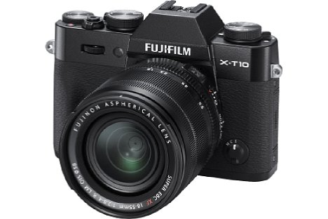 Bild Die Fujifilm X-T10 kommt im Juni 2015 auf den Markt und ist nicht nur in Silber, sondern auch in Schwarz erhältlich. [Foto: Fujifilm]