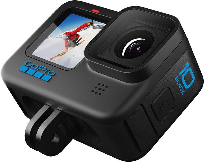 Bild GoPro HERO10 Black mit integrierter Befestigung. [Foto: GoPro]