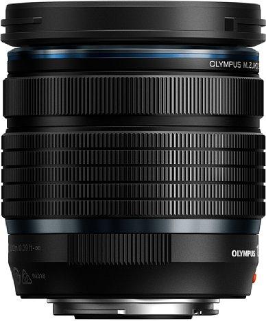 Bild Das Olympus M.Zuiko Digital ED 12-45 mm F4 Pro (EZ-M1245) verzichtet auf eine Fn-Taste sowie eine Fokus-Clutch zur schnellen Umschaltung auf manuellen Fokus. [Foto: Olympus]
