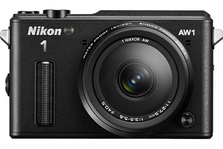 Nikon 1 AW1. [Foto: MediaNord]