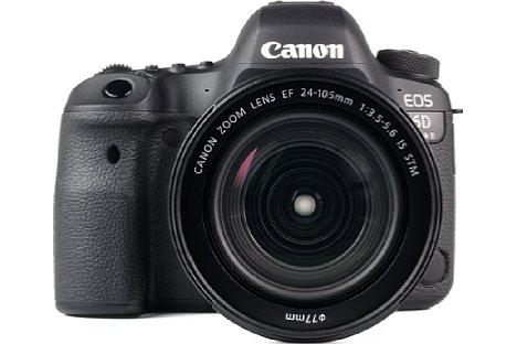 Bild Auf einen integrierten Blitz muss man bei Canon EOS 6D Mark II zwar verzichten, dafür gibt es aber ein eingebautes GPS-Modul. [Foto: MediaNord]