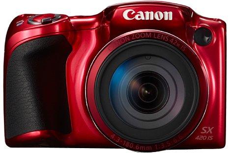 Bild Die Canon PowerShot SX420 IS wird ab Februar 2016 nicht nur in Schwarz, sondern auch in Rot erhältlich sein. [Foto: Canon]