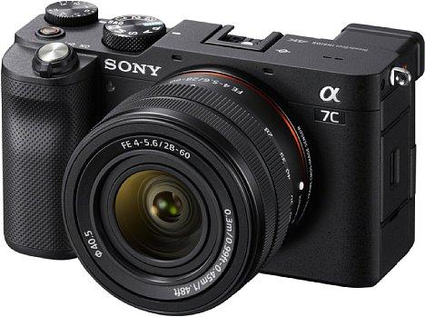 Bild Die Sony Alpha 7C ist eine der 36 zur Software kompatiblen Kameras. [Foto: Sony]