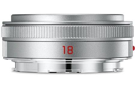"""Bild Das Leica Elmarit-TL 1:2,8/18 Asph. ist ein äußerst kompaktes und leichtes """"Pancake""""-Objektiv für die Leica T, TL, TL2 und CL. [Foto: Leica]"""