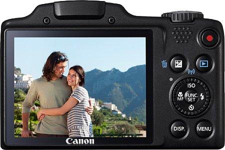 Bild Die Canon PowerShot SX510 HS verfügt über ein WLAN-Modul, eine höhere Geschwindigkeit und vor allem eine Full-HD-Videofunktion. [Foto: Canon]