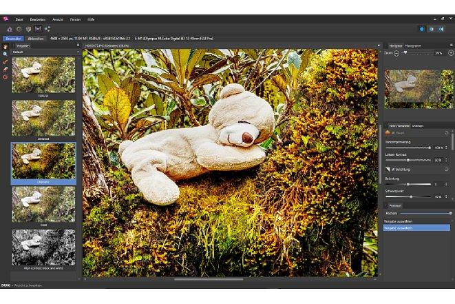 Bild Die Tonemapping-Persona stellt neben Voreinstellungen auch Werkzeuge für Detail-Einstellungen sowie partielle Änderungen von Bereichen bereit. [Foto: MediaNord]
