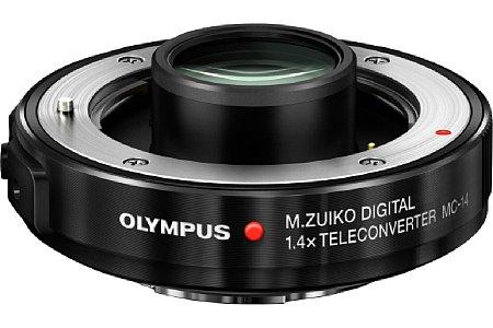 Bild Passend zum 40-150/2,8 bietet Olympus den spritzwassergeschützen 1,4-fachen Telekonverter MC-14 an. [Foto: Olympus]