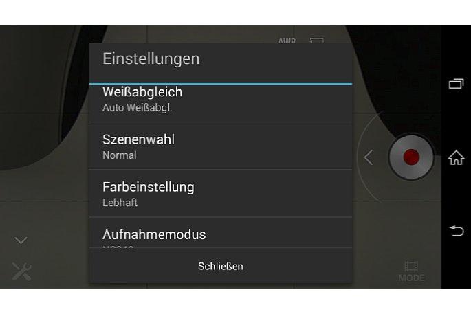 Bild In der PlayMemories-App sind die Einstellung am übersichtlichsten aufgelistet und es gibt mehrere Nachbearbeitungs- sowie Veröffentlichungs-Funktionen. [Foto: MediaNord]