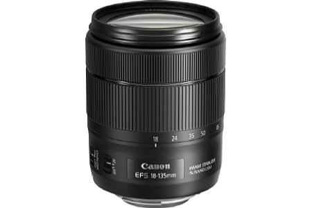 Canon EF-S 18-135 mm 3.5-5.6 IS USM. [Foto: Canon]