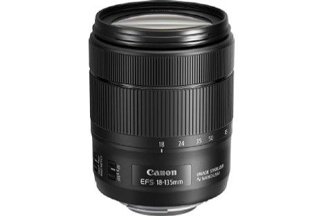 Bild Das neue Canon EF-S 18-135 mm 3.5-5.6 IS USM besitzt einen Nano-Ultraschallmotor für schnelle Fokussierung bei Fotos und kontinuierliche, sanfte und leise Fokusnachführung bei Videos. [Foto: Canon]