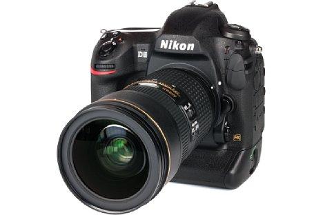 Bild Auch die Nikon D5, hier mit dem 24-70mm VR, beherrscht die automatische AF-Feinkorrektur. Sie funktioniert exakt genauso wie bei der D500, die dasselbe Bedienkonzept besitzt. [Foto: MediaNord]