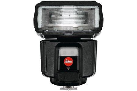 Bild Leica SF 60 Systemblitz mit Videoleuchte. [Foto: Leica]