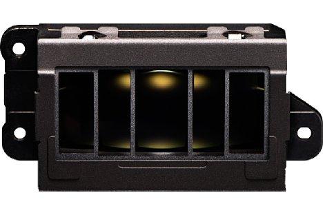 Bild Nikon D5 und D500 Autofokus-Sensormodul Multi-CAM 20K mit TTL-Phasenerkennung, 153 Fokusmessfeldern einschließlich 99 Kreuzsensoren und 15 Sensoren, die eine Lichtstärke von 1:8 unterstützen. [Foto: Nikon]