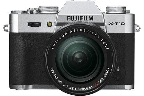 Bild Die Fujifilm X-T10 besitzt einen hoch auflösenden elektronischen Sucher, einen Klappbildschirm sowie einen 16 Megapixel auflösenden APS-C-Sensor mit X-Trans CMOS II Technologie. [Foto: Fujifilm]