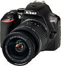 Nikon D3500 mit AF-P 18-55 mm VR. [Foto: MediaNord]