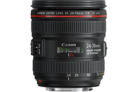 Canon EF 24-70 mm 4 L IS USM [Foto: Canon]