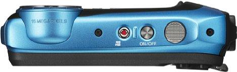 Bild Die Fujifilm FinePix XP130 besitzt eine bessere Griffkontur als das Vorgängermodell. [Foto: Fujifilm]