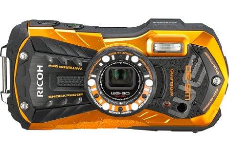 Bild Bis zu zwölf Meter tief kann man mit der Ricoh WG-30W tauchen. [Foto: Ricoh]