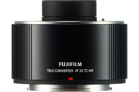 Bild Der Fujifilm XF 2X TC WR Telekonverter ist gegen Spritzwasser und Staub geschützt sowie Kälteresistent bis -10 °C. [Foto: Fujifilm]