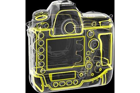 Bild Zahlreiche Dichtungen sorgen bei der Nikon D6 für den Wetterschutz. [Foto: Nikon]