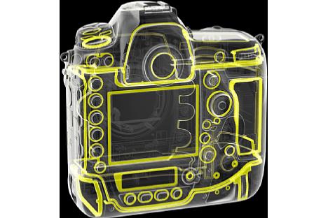 Bild Zahlreiche Dichtungen sorgen auf der Rückseite der Nikon D6 für den Wetterschutz. [Foto: Nikon]