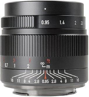 Bild Sowohl die Blende als auch der Fokus des7Artisans 35 mm F0,95 werden stufenlos manuell eingestellt. Mangels elektrischen Kontakten bleiben die entsprechenden EXIF-Daten der Bilder (Blende und Brennweite) jedoch leer. [Foto: 7Artisans]