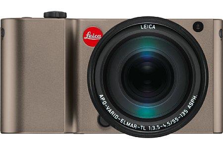 Bild Neu bei der Leica TL ist die Farbe Titan oder der mit 32 GByte nun doppelt so große interne Speicher. [Foto: Leica]