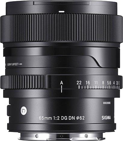 Bild Das Sigma 65 mm F2 DG DN Contemporary hat etwas breitere Ringe als das 24 und 35 mm der Contemporary i-Serie. [Foto: Sigma]