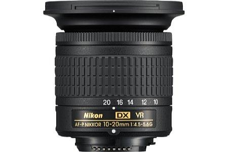 Nikon AF-P DX 10-20 mm 1:4,5-5,6G VR. [Foto: Nikon]