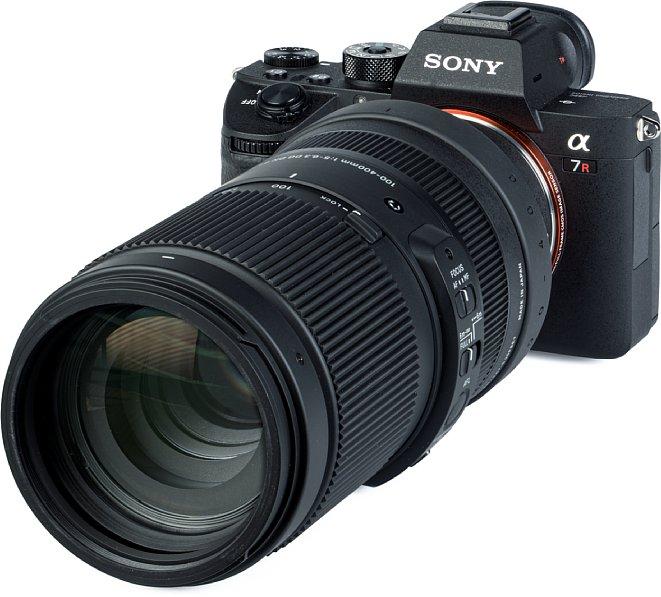 Bild Die Auflösung des Sigma 100-400 mm F5-6.3 DG DN OS Contemporary ist an der Sony Alpha 7R III bei kurzer und mittlerer Brennweite gut, bei längerer lässt sie deutlich nach. Weniger schön ist die mit zunehmender Brennweite zunehmend starke Verzeichnung. [Foto: MediaNord]