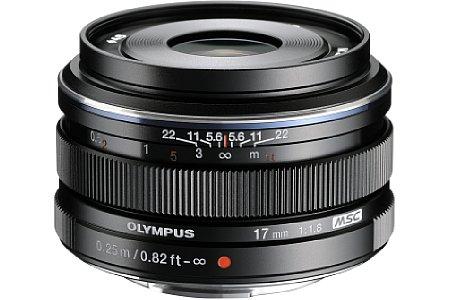 Olympus 17 mm 1.8 (EW-M1718). [Foto: Olympus]